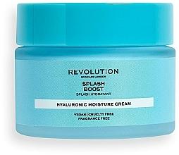 Kup Krem nawilżający do twarzy z kwasem hialuronowym - Revolution Skincare Splash Boost with Hyaluronic Acid