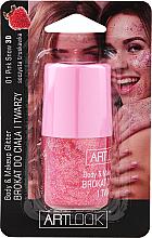 Kup PRZECENA! Brokat do twarzy i ciała - Artlook Body & Make Up Glitter *