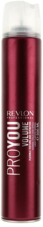 Lakier zwiększający objętość włosów - Revlon Professional ProYou Volume Normal Hold Hair Spray