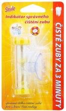 Kup Timer do odmierzania czasu mycia zębów, żółty - VitalCare White Pearl Smile Indicator Proper Toothbrushing