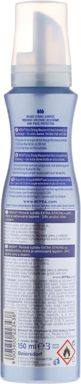Pianka do włosów - Nivea Extra Strong Styling Mousse — фото N2