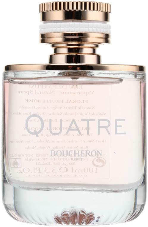 Boucheron Quatre Boucheron Pour Femme - Woda perfumowana (tester z nakrętką)