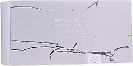 Kup Pielęgnacyjne chusteczki do skóry wrażliwej i z trądzikiem - N-Medical Hyaluron Royal Silver Care Wipes