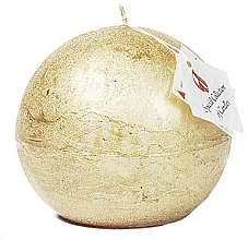 Kup Naturalna świeca, kula, 10 cm - Ringa Golden Glow Candle