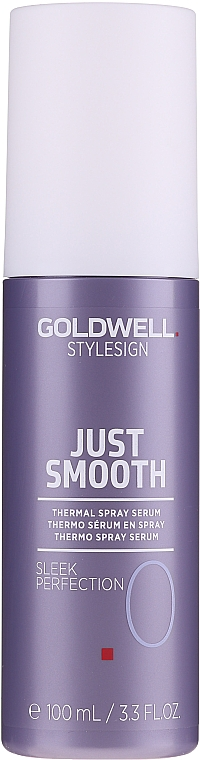 Termoochronne serum w sprayu do włosów - Goldwell Style Sign Just Smooth Sleek Perfection Thermal Spray Serum