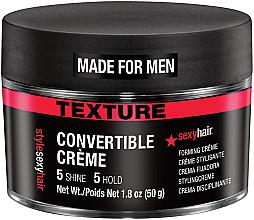 Kup Teksturujący krem do włosów dla mężczyzn - SexyHair Style Convertible Forming Creme