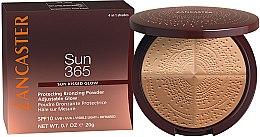 Kup Puder brązujący SPF 10 - Lancaster 365 Sun Protecting Bronzing Face Powder SPF10 Adjustable Glow
