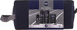Kup PRZECENA! Zestaw - Nivea Men Deep Control 2020 (sh/gel/250ml + ash/lot/100ml + foam/200ml + deo/50ml + bag) *