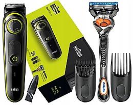 Kup Trymer do włosów i brody + maszyna Gillette - Braun BT 3941