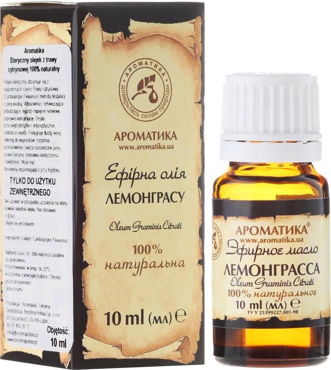 100% naturalny olejek z trawy cytrynowej - Aromatika — фото N1