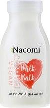 Kup Wegańskie mleko do kąpieli o zapachu karmelu - Nacomi Milk Bath Caramel