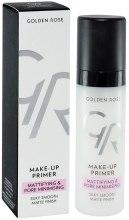 Kup Matująca baza pod makijaż zmniejszająca widoczność porów - Golden Rose Make-Up Primer Mattifying & Pore Minimising