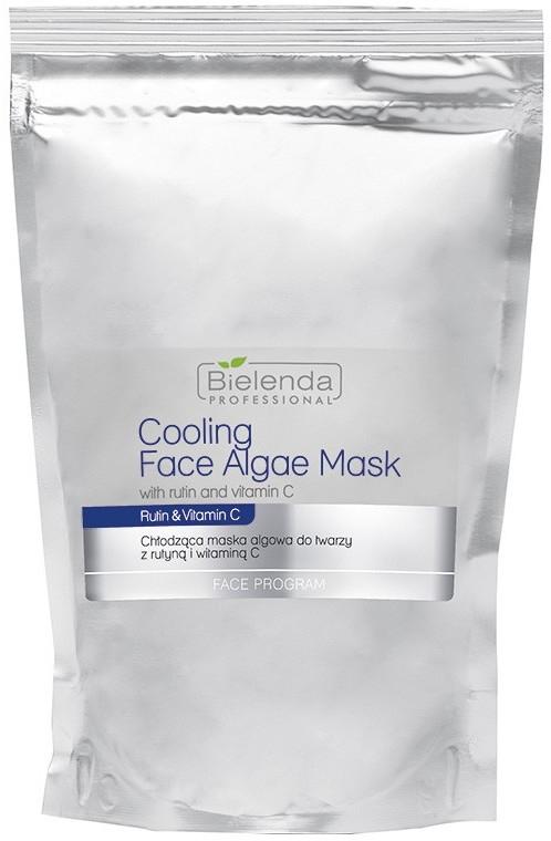 Chłodząca maska algowa do twarzy z rutyną i witaminą C - Bielenda Professional Cooling Face Algae Mask With Rutin And Vitamin C (uzupełnienie)