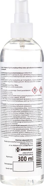 Płyn do higienicznej dezynfekcji skóry rąk - Synteza Dezasept Antibacterial Hand Spray — фото N2