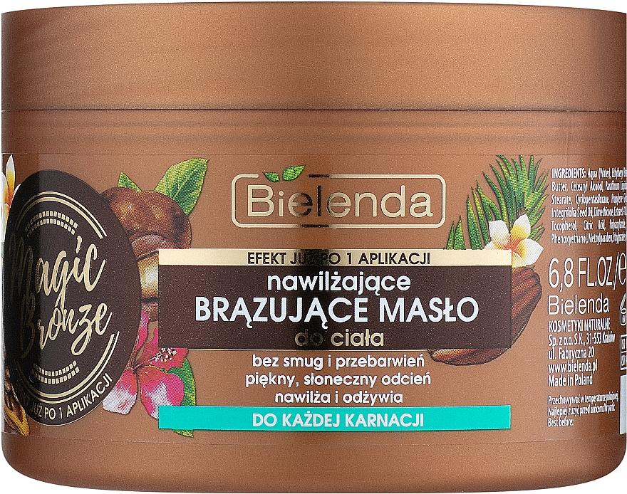 Nawilżające brązujące masło do ciała - Bielenda Magic Bronze