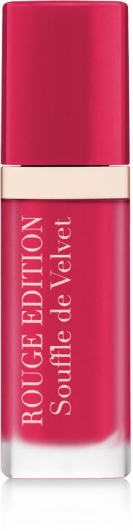 Subtelna matowa pomadka do ust - Bourjois Rouge Edition Souffle de Velvet Lipstick
