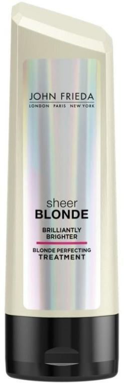 Rozświetlająca odżywka do włosów blond - John Frieda Sheer Blonde Brilliantly Brighter Treatment — фото N1