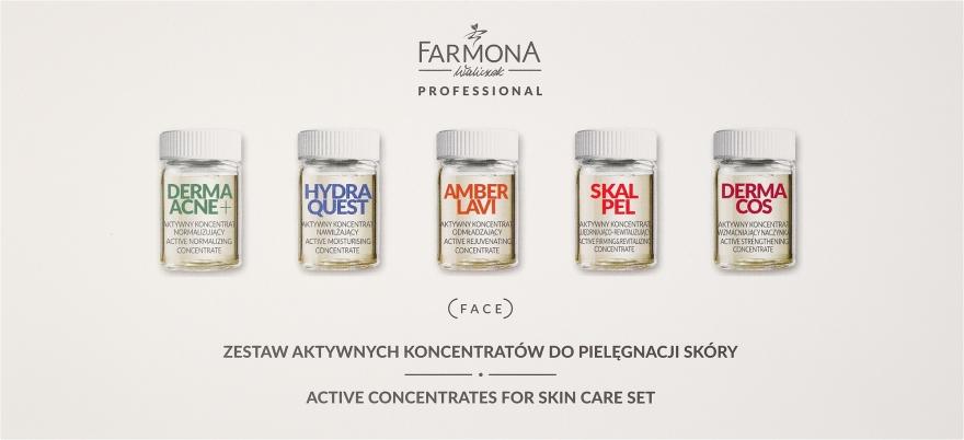 Zestaw aktywnych koncentratów do pielęgnacji skóry - Farmona Professional (10 x concentrate 5 ml) — фото N1