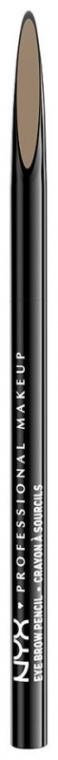 Kredka do brwi - NYX Professional Makeup Precision Brow Pencil