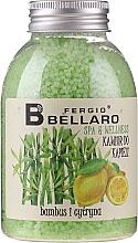 Kup Zmiękczający kawior do kąpieli Bambus i cytryna - Fergio Bellaro Bamboo and Lemon Bath Caviar