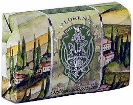 Kup Mydło w kostce Srebrny cyprys - La Florentina Silver Cypress Bath Soap