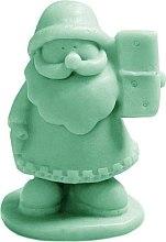 Kup Naturalne mydło ręcznie robione o zapachu kiwi Mały św. Mikołaj - LaQ Happy Soaps
