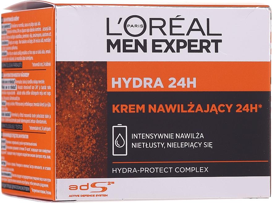 Intensywnie nawilżający krem do twarzy dla mężczyzn - L'Oreal Paris Men Expert Hydra 24h Face Cream