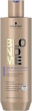 Kup Neutralizujący szampon do włosów blond - Schwarzkopf Professional BlondMe Cool Blondes Neutralizing Shampoo