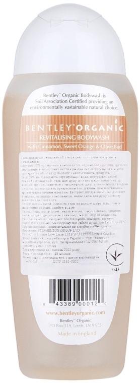 Żel pod prysznic Cynamon, pomarańcza i goździki - Bentley Organic Body Care Revitalising Bodywash — фото N2