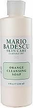 Kup Oczyszczające mydło pomarańczowe do mycia twarzy - Mario Badescu Orange Cleansing Soap