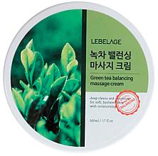 Kup PRZECENA! Równoważący krem do masażu z zieloną herbatą - Lebelage Green Tea Balancing Massage Cream *