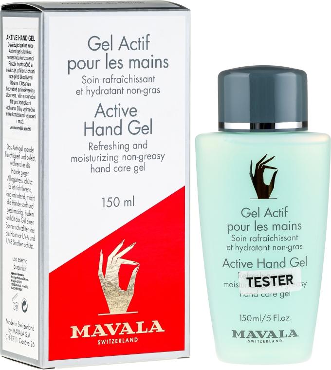 Aktywny żel do rąk - Mavala Active Hand Gel (tester) — фото N1