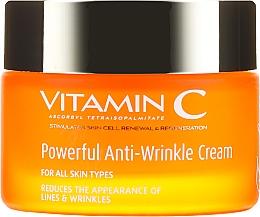 Przeciwzmarszczkowy krem do twarzy - Frulatte Vitamin C Powerful Anti Wrinkle Cream  — фото N2