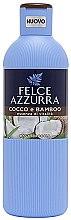 Kup Żel pod prysznic Kokos i bambus - Felce Azzurra Coconut and Bamboo Body Wash