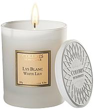 Kup Świeca zapachowa Biała lilia - Collines De Provence White Lily Scented Candle