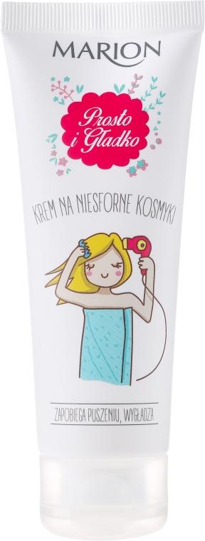 Krem na niesforne kosmyki Prosto i gładko - Marion Mała stylistka