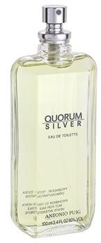 Antonio Puig Quorum Silver - Woda toaletowa (tester bez nakrętki) — фото N2