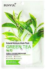 Kup Nawilżająca maska do twarzy na tkaninie z ekstraktem z zielonej herbaty - Eunyul Natural Moisture Mask Pack Green Tea