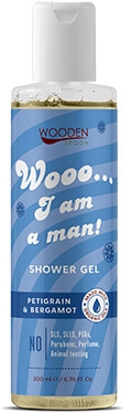 Żel pod prysznic dla mężczyzn - Wooden Spoon I Am a Man! Shower Gel — фото N1