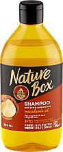 Kup Nawilżający szampon do włosów z olejkiem macadamia - Nature Box Macadamia Oil Shampoo
