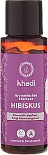 Kup Szampon do wrażliwej skóry głowy Hibiskus - Khadi Hibiscus Shampoo