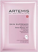 Kup Przeciwstarzeniowa maseczka do twarzy - Artemis of Switzerland Skin Supremes Age Correcting Face Mask