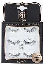 Kup Zestaw sztucznych rzęs Sara - Sosu by SJ Makeup Artist Multipack Eyelashes
