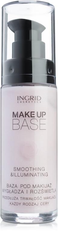 Wygładzająco-rozświetlająca baza pod makijaż - Ingrid Cosmetics Make Up Base