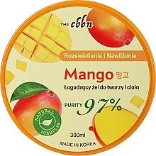 Kup Rozświetlająco-nawilżający łagodzący żel do twarzy i ciała Mango - The Ebbn Illuminating And Moisture Mango Soothing Gel