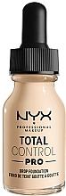 Kup Matowa baza pod makijaż - NYX Professional Total Control Pro Drop Foundation