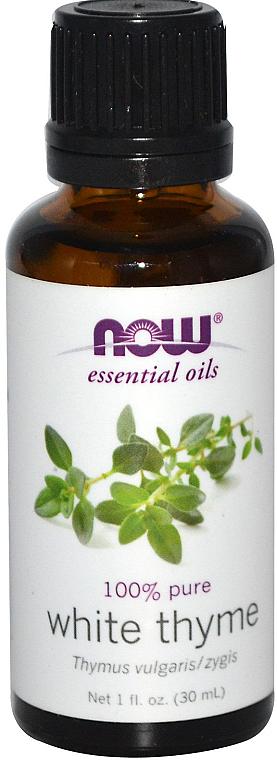 Olejek eteryczny z białego tymianku - Now Foods Essential Oils 100% Pure White Thyme  — фото N1