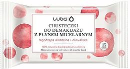 Kup Chusteczki do demakijażu z płynem micelarnym - Luba Make-up Removal Wipes