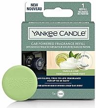Kup Dyfuzor zapachowy do samochodu - Yankee Candle Car Powered Fragrance Refill Vanilla Lime (wymienny wkład)