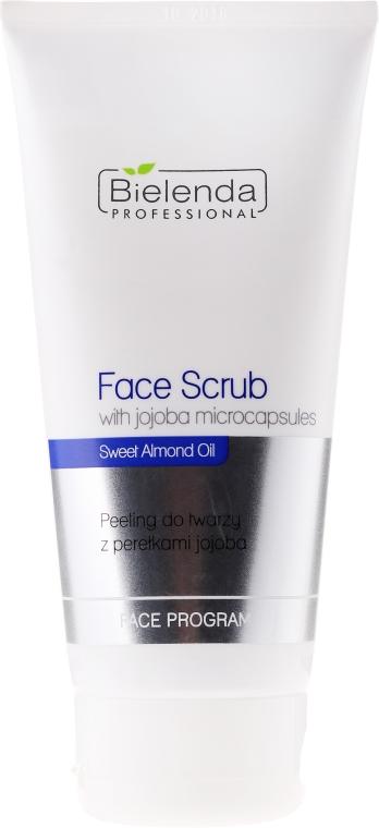 Peeling do twarzy z perełkami jojoba - Bielenda Professional Face Program